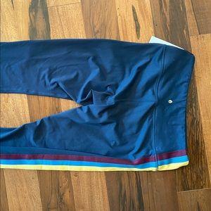 Spiritual Gangster Pants & Jumpsuits - Spiritual Gangster aurora sky leggings Navy Blue